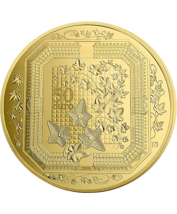 1/4 Oz, 50 Euros Or BE France 2018 - Boucheron Excellence à la française (MDP)