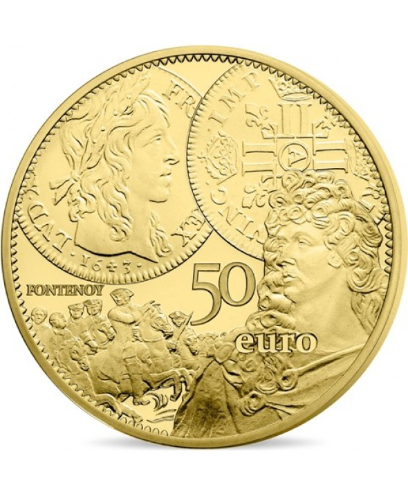 LE LOUIS D'OR - 50 Euros OR BE 2017 FRANCE (MDP)