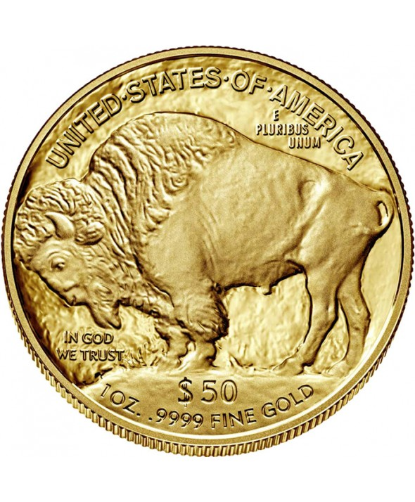 50 Dollars Or 2018 ETATS-UNIS - Indien / Buffalo