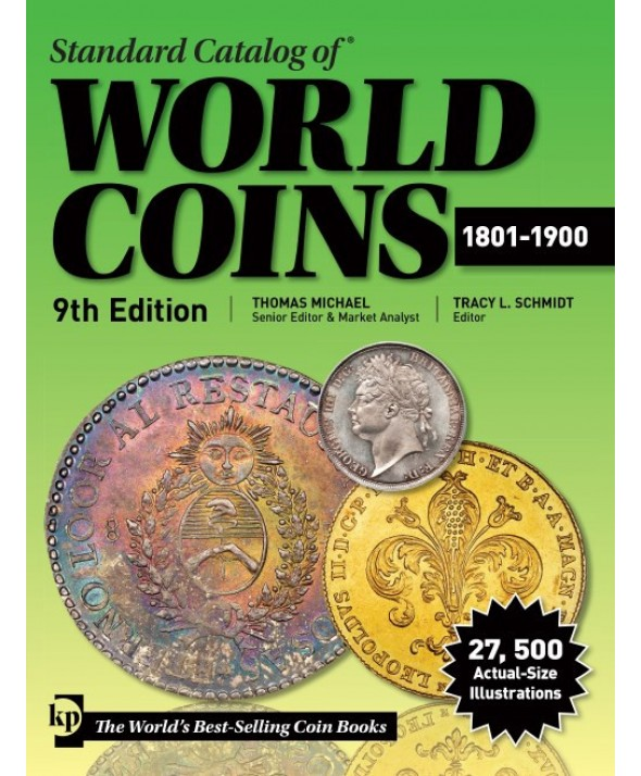 World Coins 1801 à 1900 - 9e Edition 2019