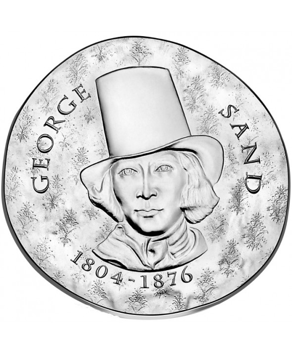 George Sand - 10 Euros Argent BE 2018 FRANCE (MDP)