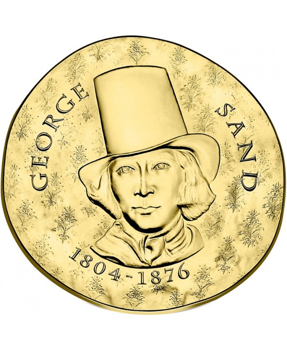 George Sand - 50 Euros Or BE 2018 FRANCE (MDP)