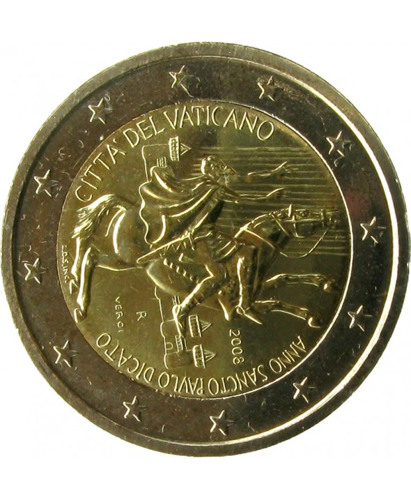 "2 Euros Commémorative - Vatican 2008 ""Saint Paul"""