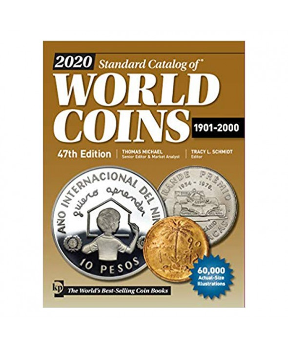 World Coins 1901 à 2000, 47ème Edition (2020)