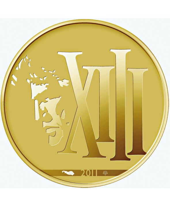 50 Euros Or BE FRANCE 2011 - XIII (MDP)