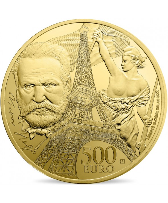 Victor HUGO - Europa Star 500 Euros Or BE FRANCE 2017 (MDP)