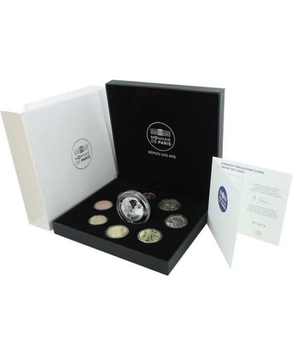 Coffret BE Euro FRANCE 2016 (MDP)