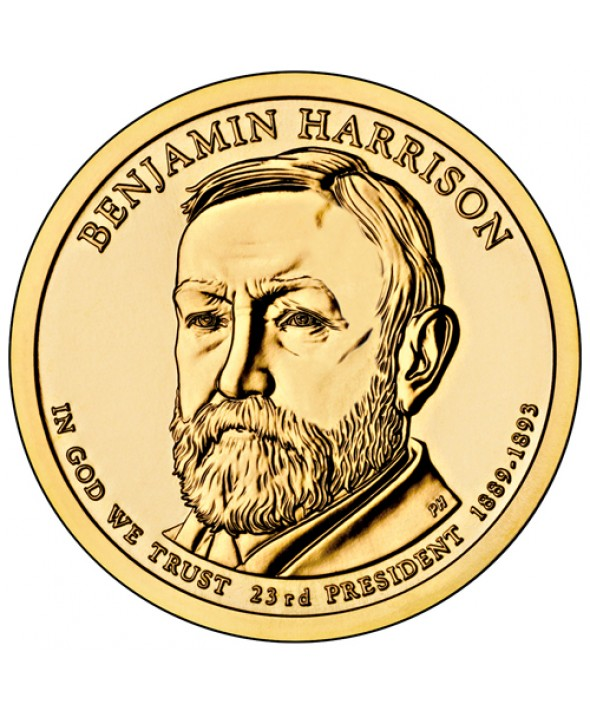 1 Dollar USA 2012 - Benjamin Harrison