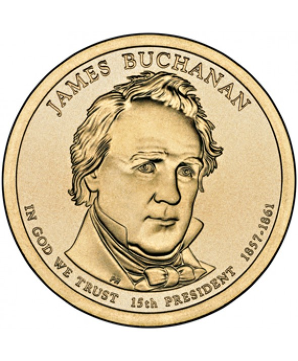 1 Dollar USA 2010 - James Buchanan
