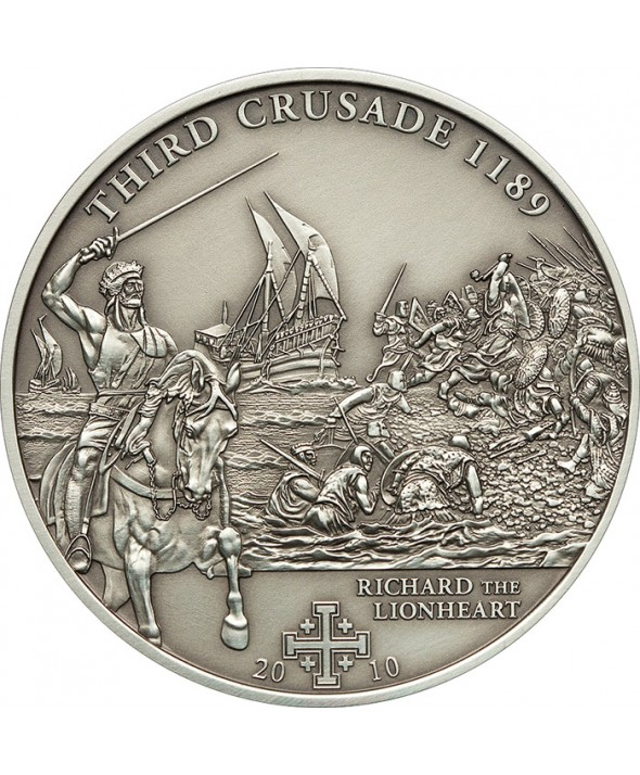 5 Dollars - 2010 - 3e Croisade - Richard Coeur de Lion