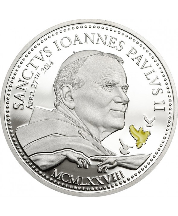 2 Dollars 2014 - Canonisation du Pape Jean Paul II