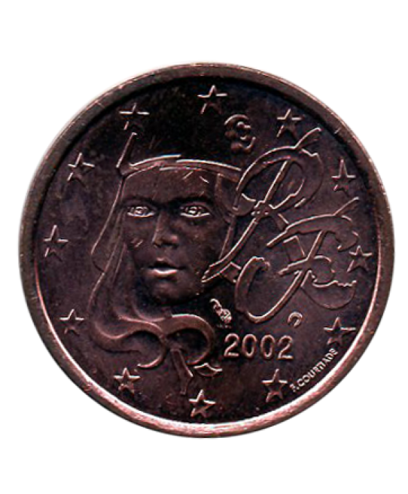 5 centimes d'euro - France 2001