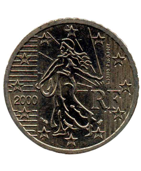 50 centimes d'euro - France 2001