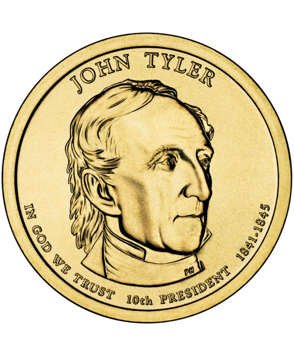 1 Dollar USA 2009 - John Tyler