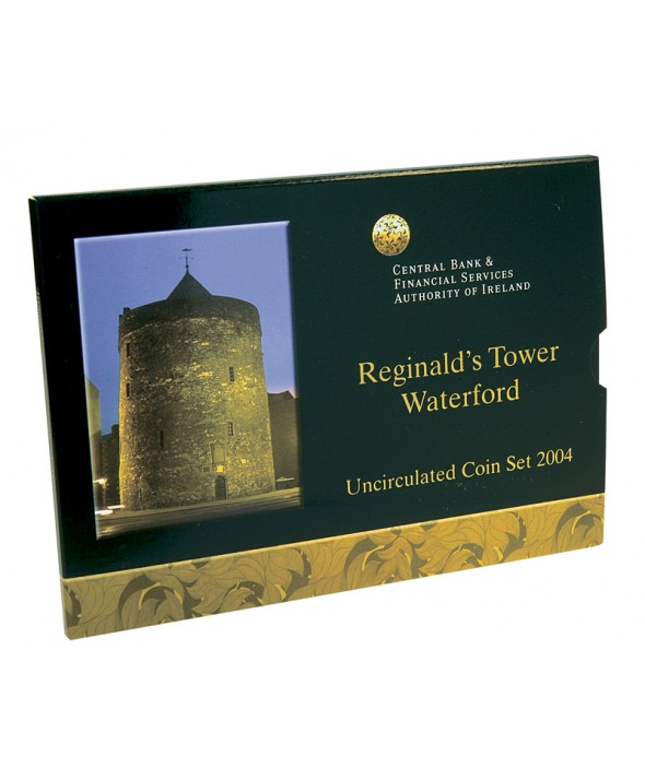 Coffret BU Euro 2004 - Irlande (Reginald's Tower Waterford)