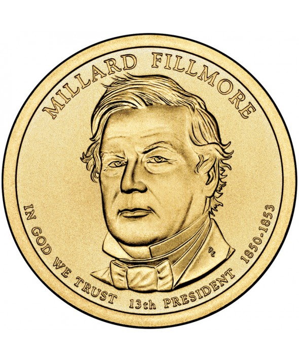 1 Dollar USA 2010 - Millard Fillmore