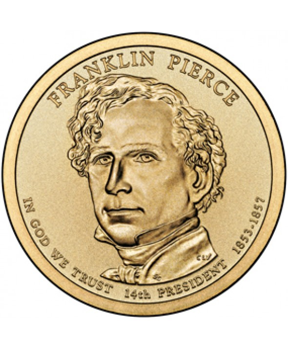 1 Dollar USA 2010 - Franklin Pierce
