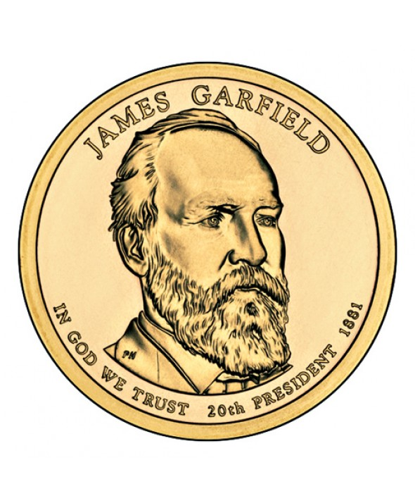 1 Dollar USA 2011 - James Garfield