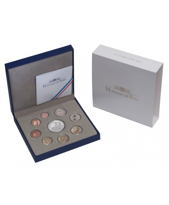 Coffret BE Euro 2011 - France