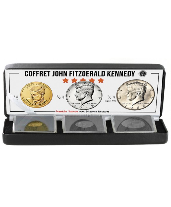 "Coffret ""John F. Kennedy"""