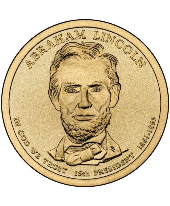1 Dollar USA 2010 - Abraham Lincoln