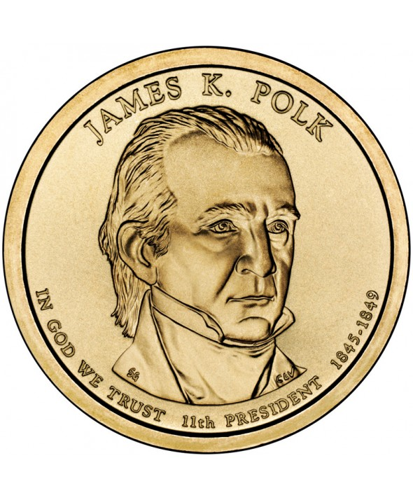 1 Dollar USA 2009 - James K. Polk
