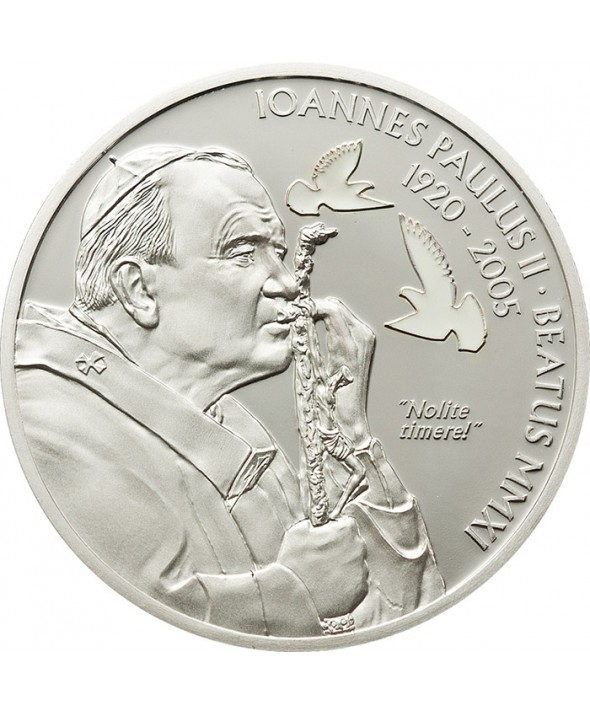 2 Dollars 2011 - La béatification de Jean-Paul II