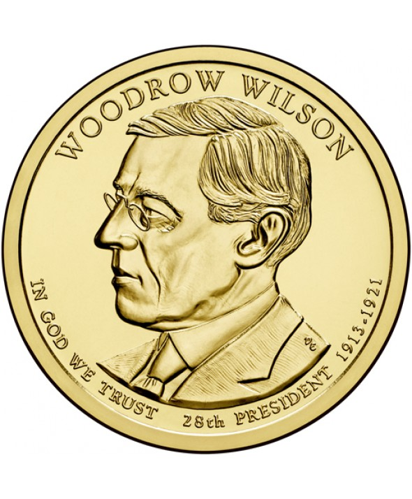 1 Dollar USA 2013 - Woodrow Wilson