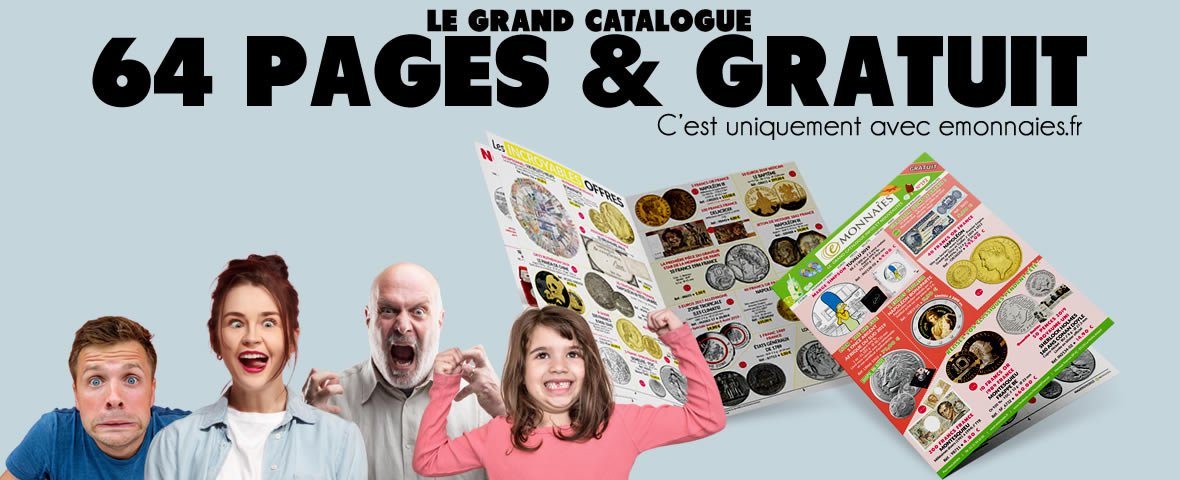 le plus grand catalogue numismatique gratuit en France